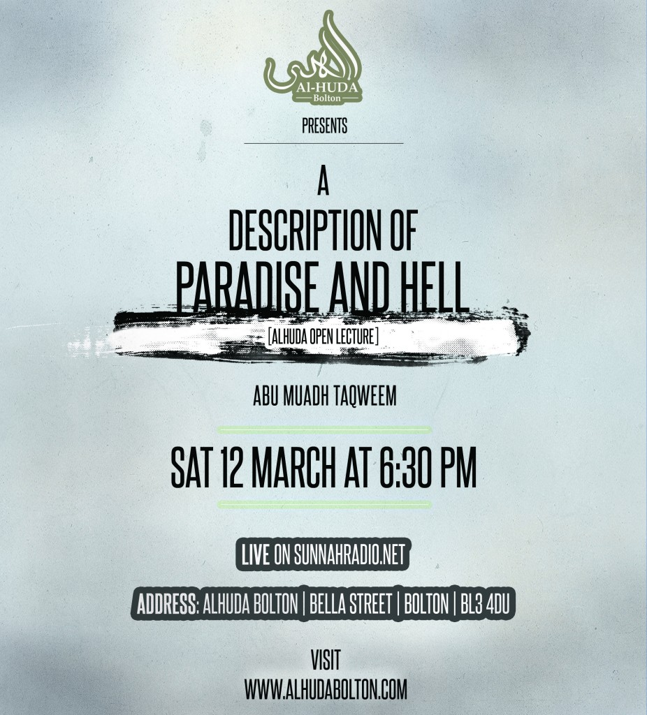 A description of Paradise and Hell